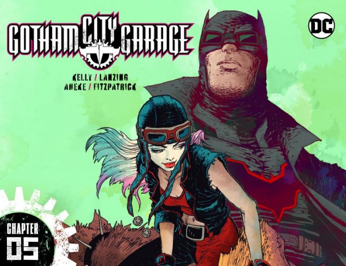 Gotham City Garage #5