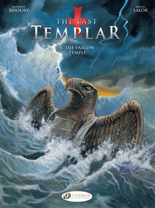 The Last Templar #4 - The Falcon Temple