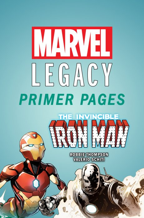 Invincible Iron Man - Marvel Legacy Primer Pages #1