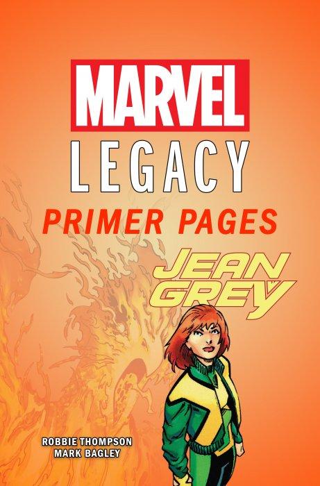 Jean Grey - Marvel Legacy Primer Pages #1
