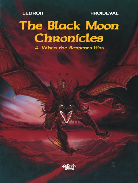 The Black Moon Chronicles #4-7 Complete
