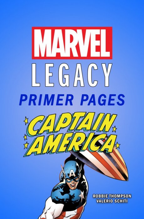 Captain America - Marvel Legacy Primer Pages