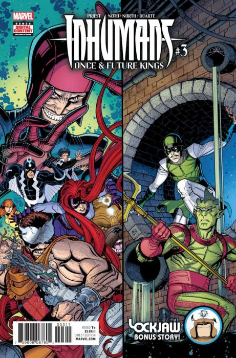 Inhumans - Once and Future Kings #03