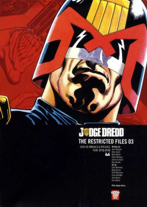 Judge Dredd - The Restricted Files Vol.3