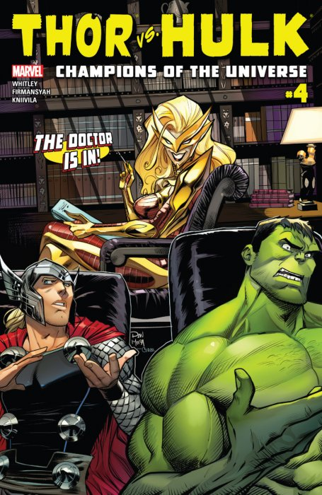 Thor vs. Hulk - Champions of the Universe #4