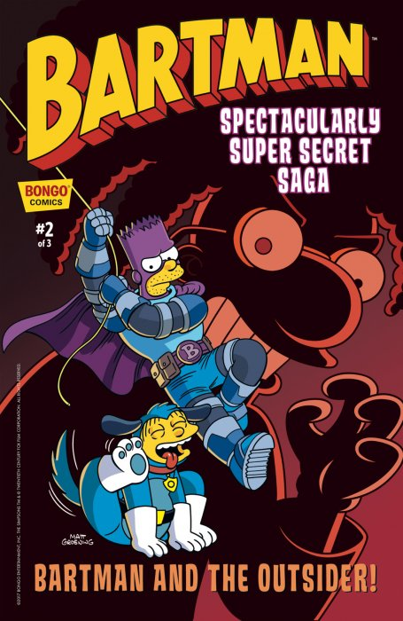 Bartman Spectacularly Super Secret Saga #2