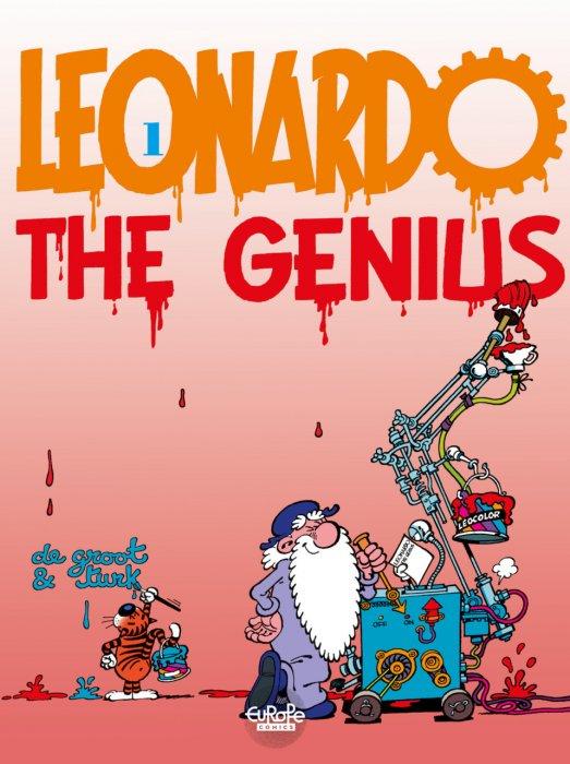 Leonardo #1 - Leonardo the Genius