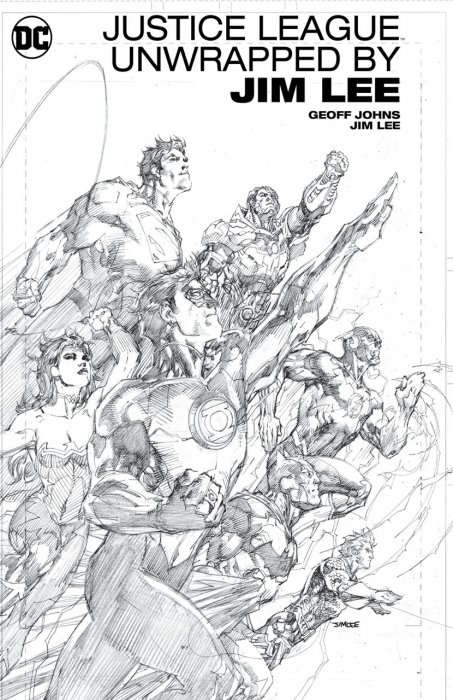 Justice League Unwrapped by Jim Lee #1 - HC
