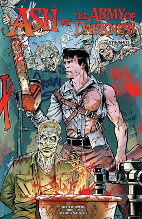 Ash vs The Army of Darkness #4
