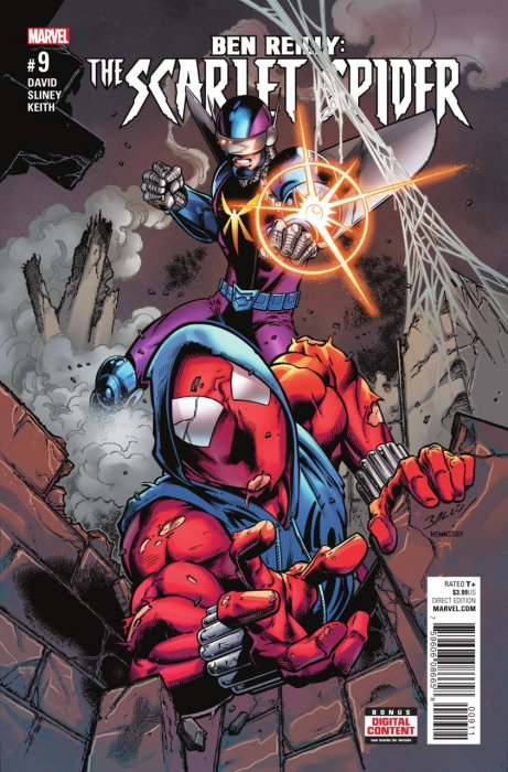 Ben Reilly - Scarlet Spider #9