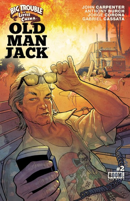 Big Trouble In Little China Old Man Jack #2