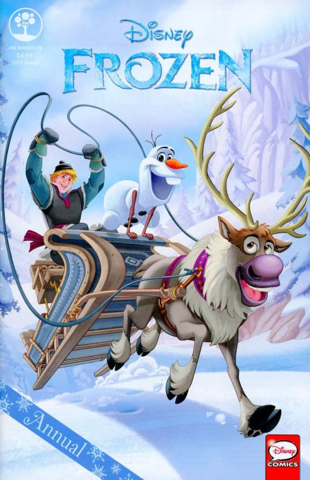Disney Frozen Annual 2017 #1