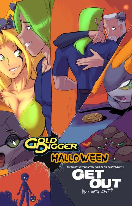 Gold Digger Halloween Special 2017 #13