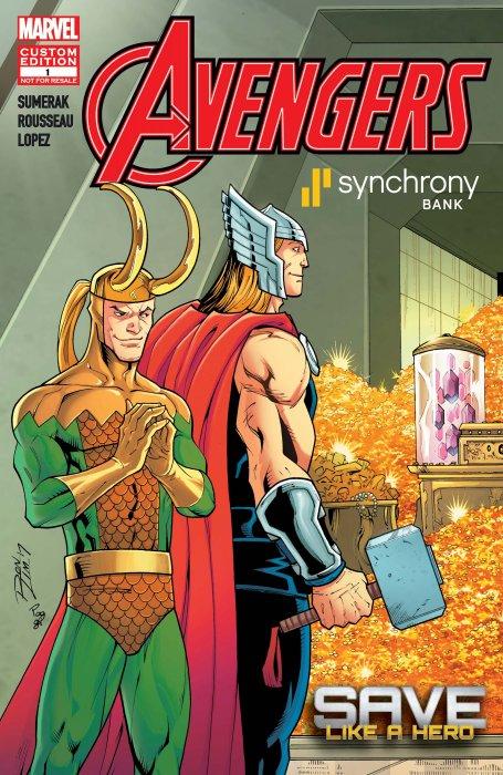 Avengers - Save Like a Hero #1