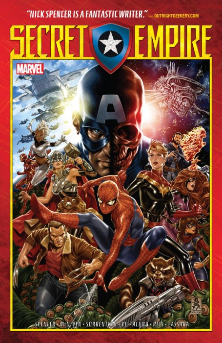 Secret Empire #1 - HC