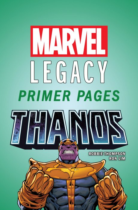 Thanos - Marvel Legacy Primer Pages #1