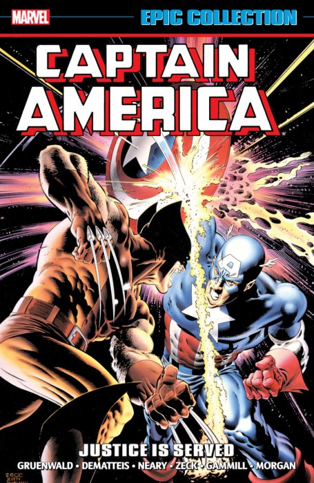 Captain America Epic Collection Vol.13 - Justice is Served