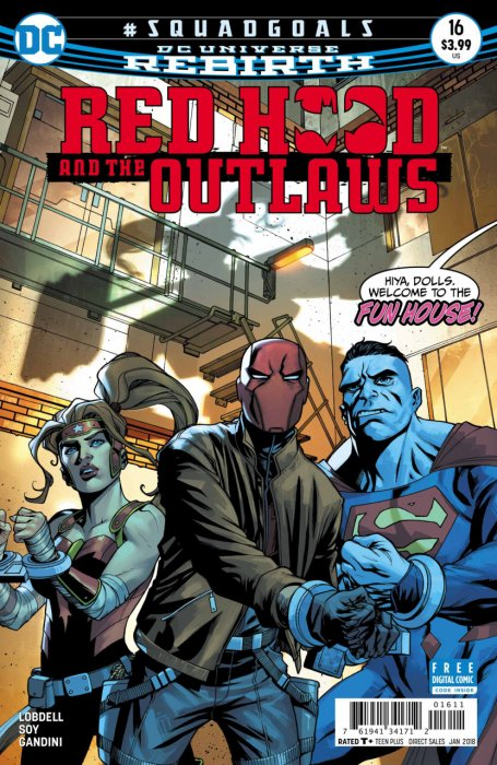 Red Hood and the Outlaws #16