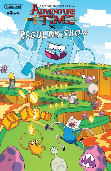 Adventure Time - Regular Show #2