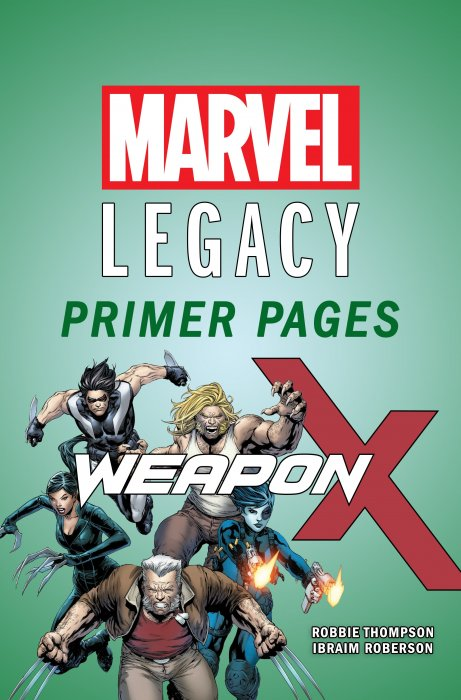 Weapon X - Marvel Legacy Primer Pages #1