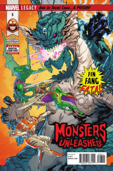 Monsters Unleashed Vol.2 #8