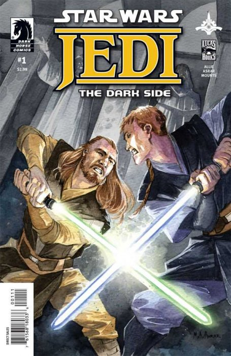 Star Wars - Jedi - The Dark Side #1-5 Complete