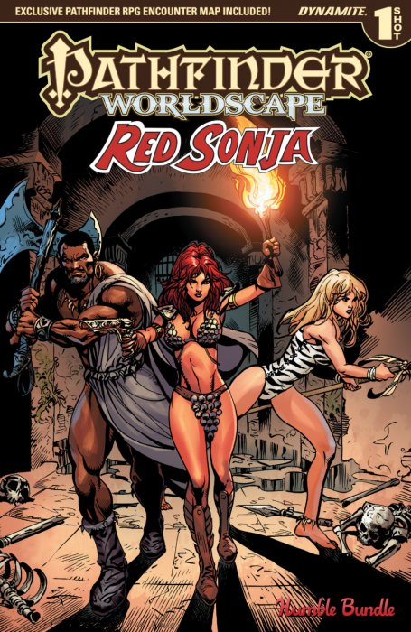 Pathfinder - Worldscape - Red Sonja #1