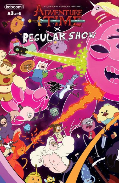 Adventure Time - Regular Show #3