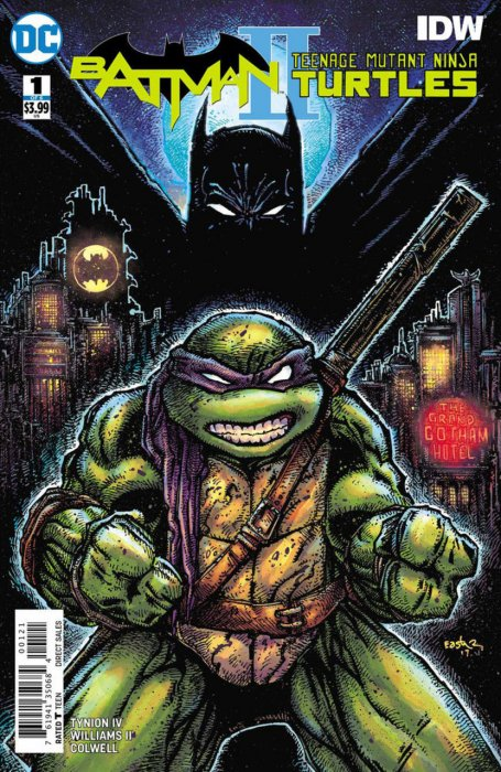 Batman - Teenage Mutant Ninja Turtles II #1
