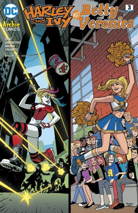 Harley & Ivy Meet Betty and Veronica #3
