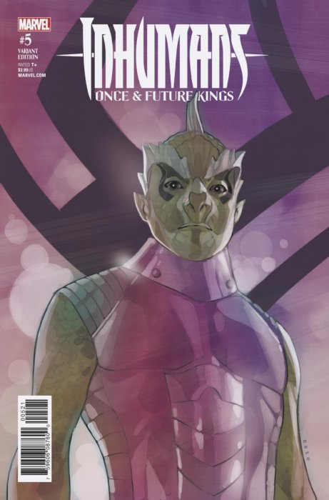Inhumans - Once and Future Kings #5