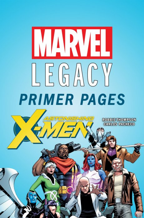 Astonishing X-Men - Marvel Legacy Primer Pages #1