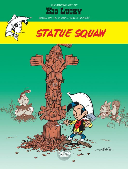 The Adventures of Kid Lucky Vol.3 - Statue Squaw