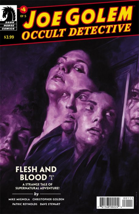 Joe Golem  -  Flesh and Blood #1