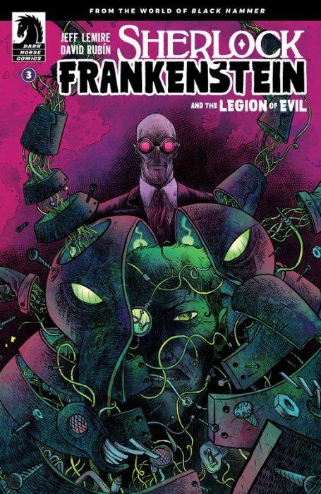 Sherlock Frankenstein and the Legion of Evil #3