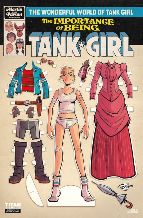The Wonderful World of Tank Girl #2