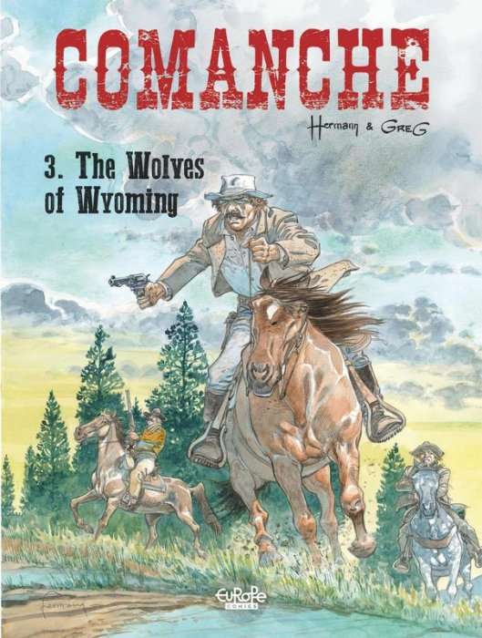 Comanche Vol.3 - The Wolves of Wyoming
