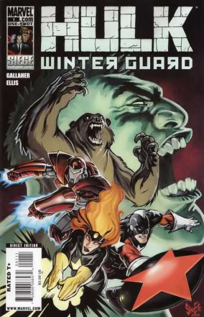 Hulk - Winter Guard #1