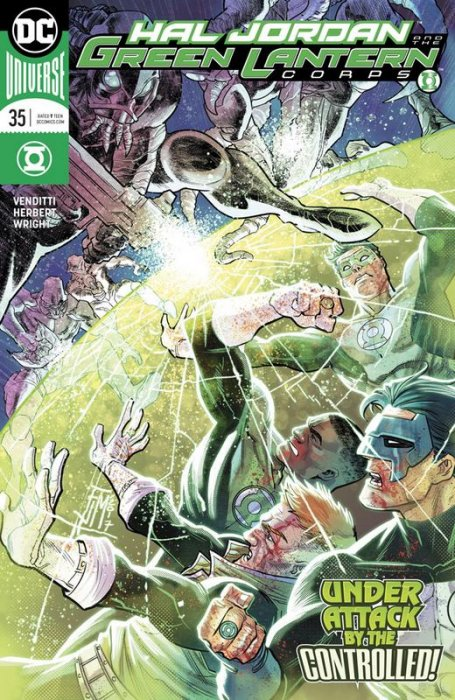 Hal Jordan and the Green Lantern Corps #35