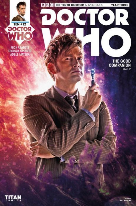 Doctor Who - The Tenth Doctor Year Three #12