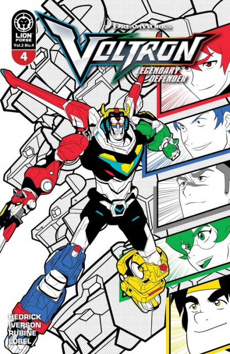 Voltron - Legendary Defender Vol.2 #4