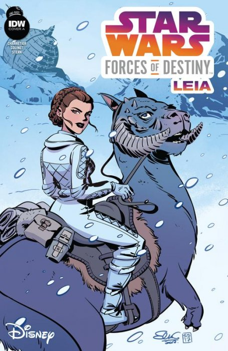 Star Wars Adventures - Forces of Destiny - Princess Leia #1