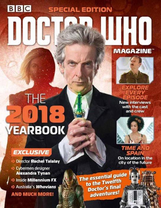 Doctor Who Magazine Special Edition #48 - Doctor Who Yearbook 2018