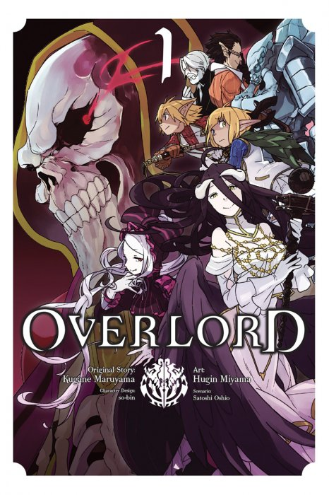 Overlord Vol.1-4 Complete