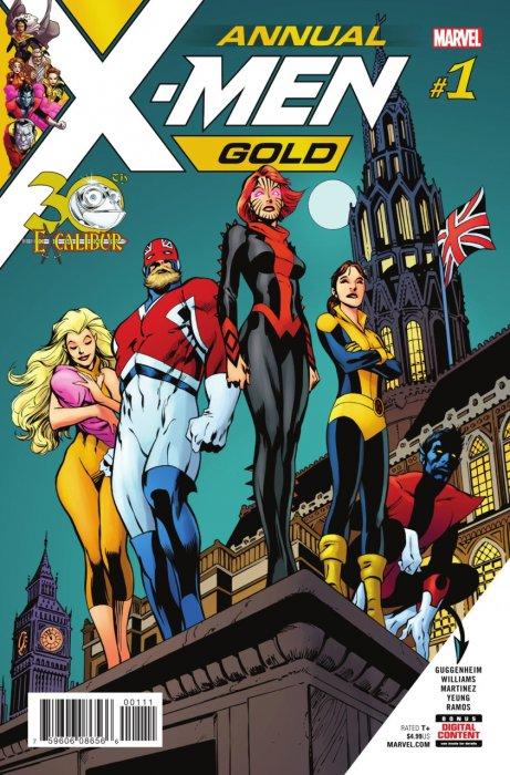 X-Men Gold Annual #1