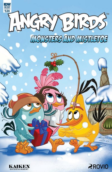 Angry Birds Comics Quarterly - Monsters and Mistletoe #1