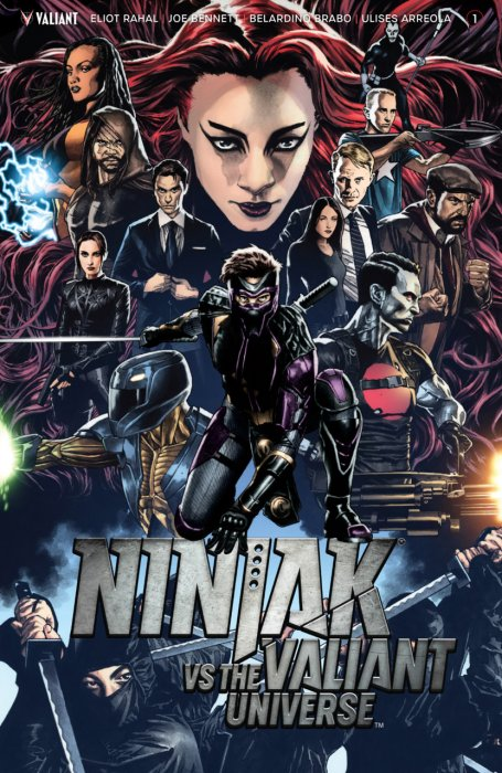 Ninjak vs. the Valiant Universe #1