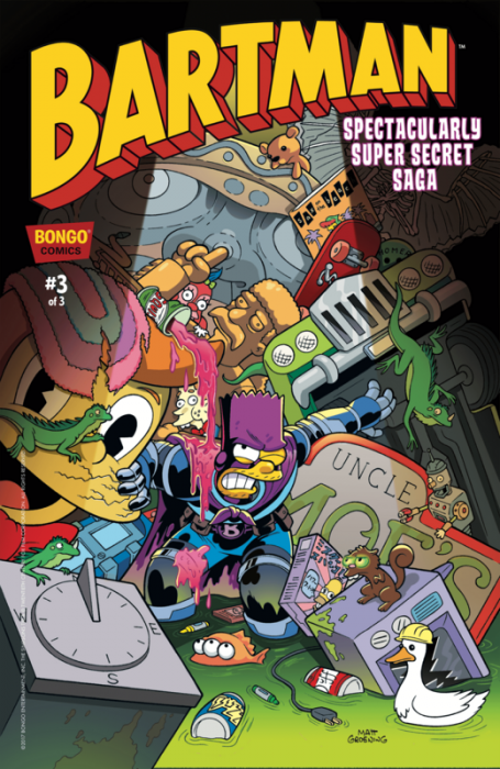 Bartman Spectacularly Super Secret Saga #3
