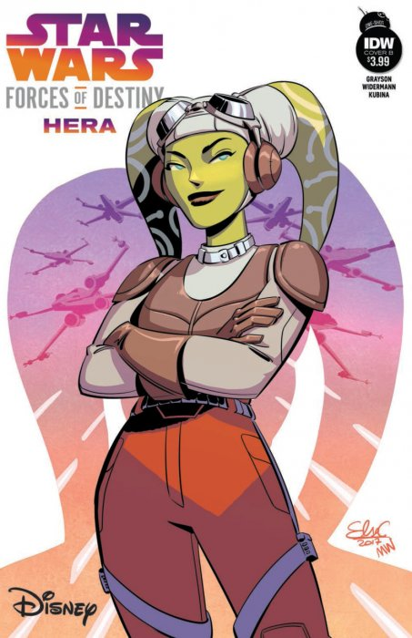 Star Wars Adventures - Forces of Destiny - Hera #1