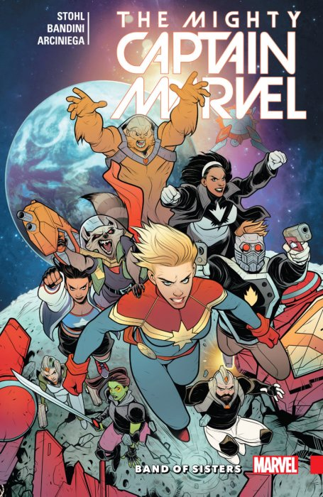 Mighty Captain Marvel Vol.2 - Band of Sisters